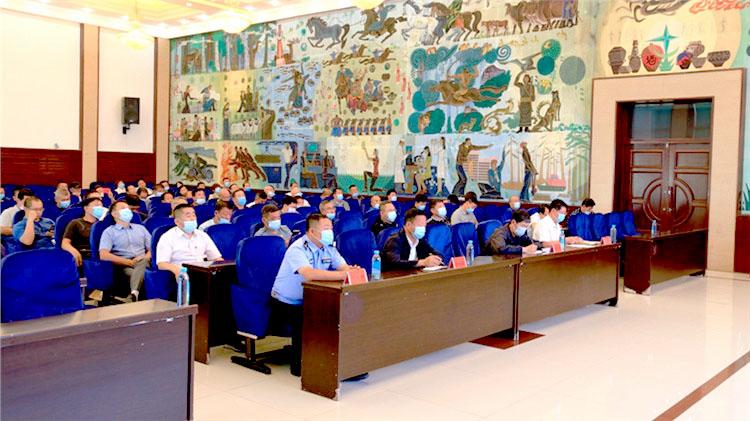 莫尔道嘎林业局党委召开反邪教警示教育宣讲大会