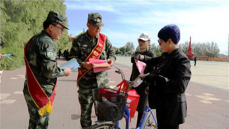大杨树林业局开展秋季森林防火宣传活动