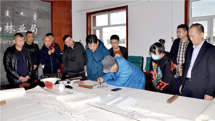 """""""我们的中国梦-中国文联金融文艺进万家""""志愿服务小分队走进阿尔山林业局"""