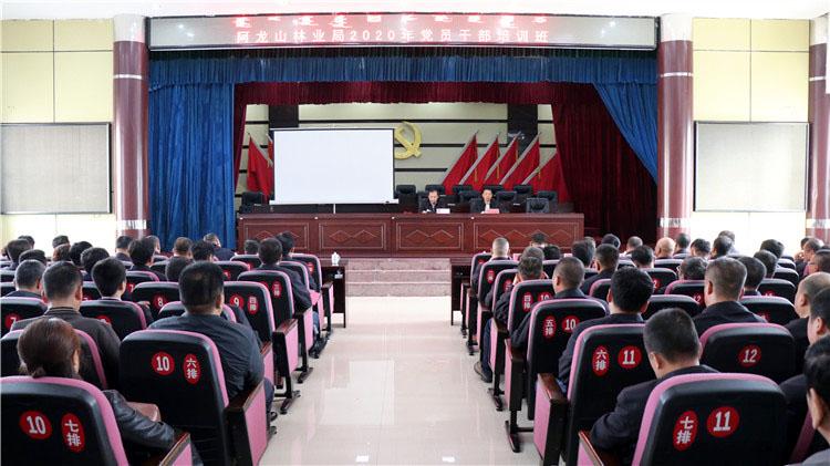 阿龙山林业局党委举办党员干部培训班