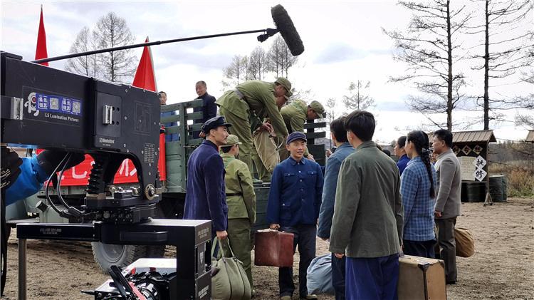 电影《海林都之燃情岁月》剧组来到图里河林业局进行拍摄