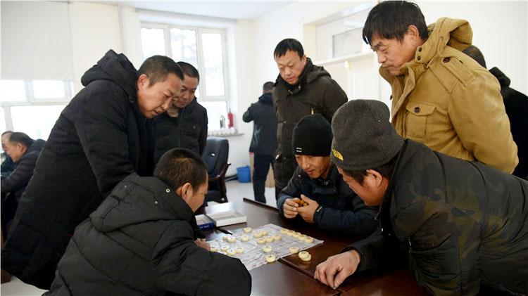 """图里河林业局有限公司举办2020年职工""""中国象棋、军棋""""比赛"""