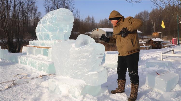 根河林业局有限公司正在全力打造冬季旅游项目