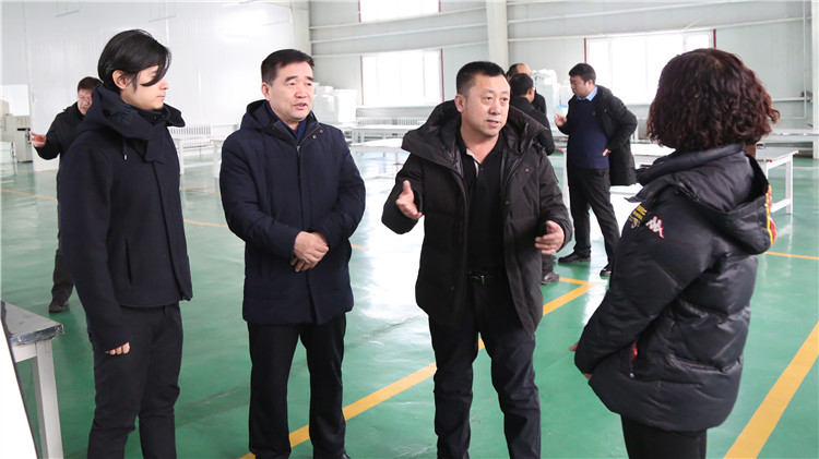 内蒙古大兴安岭林下产品有限公司到克一河林业局有限公司调研