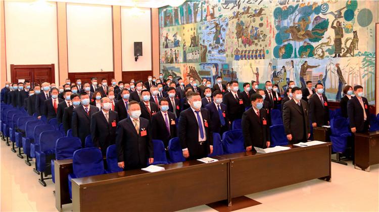 莫尔道嘎林业局有限公司召开2021年度工作会议暨八届二十四次职工代表大会