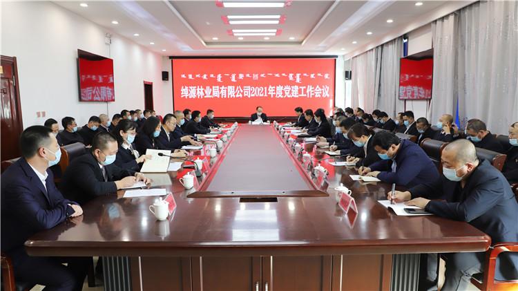绰源林业局有限公司党委召开2021年度党建工作会议