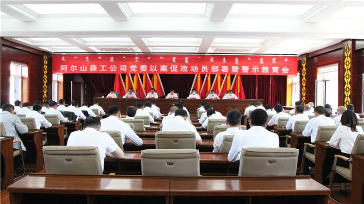 阿尔山森工公司党委召开以案促改动员部署暨警示教育会