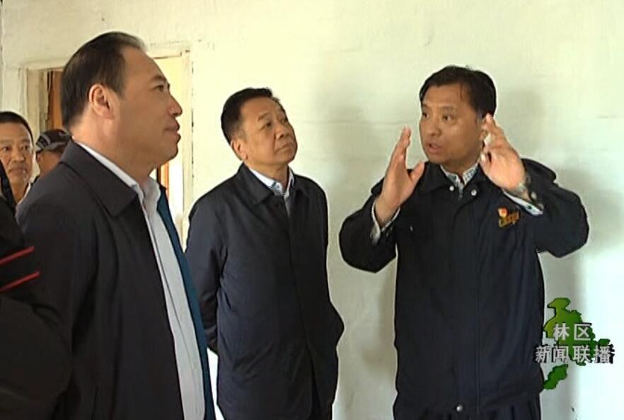 陈佰山到根河 金河 阿龙山 莫尔道嘎林业局等单位督导调研